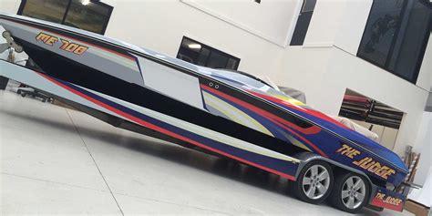 boat graphics brisbane vinyl boat wraps brisbane satu sticker