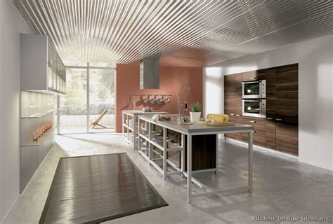 Kitchen Color Schemes With Oak Cabinets by Pictures Of Kitchens Modern Dark Wood Kitchens Page 3