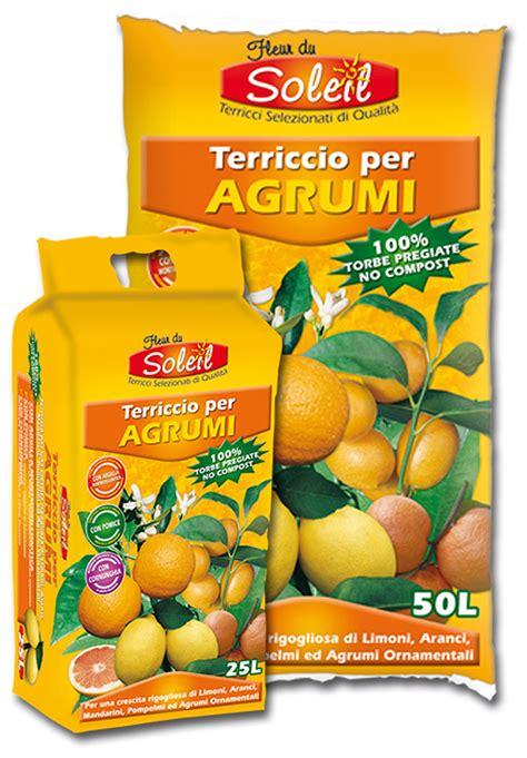 terriccio per limoni in vaso fleur du soleil terriccio per agrumi raggio di sole