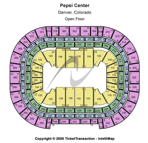 pepsi center floor plan cheap pepsi center denver tickets