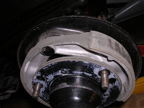 brake bedding bedding in new brake shoes