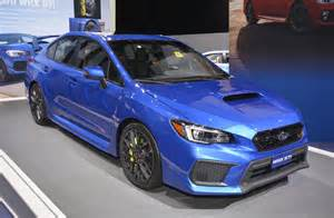 Wrx Sti Subaru 2018 Subaru Wrx And Wrx Sti Debut At 2017 Detroit Auto Show