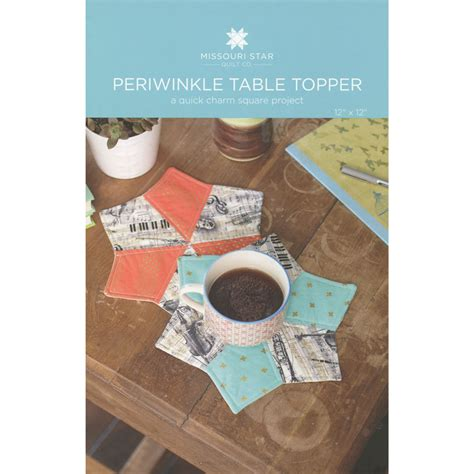 Periwinkle Table Topper Pattern Sku Pat780 Missouri Star Quilt Co Wholesale Table Topper Template