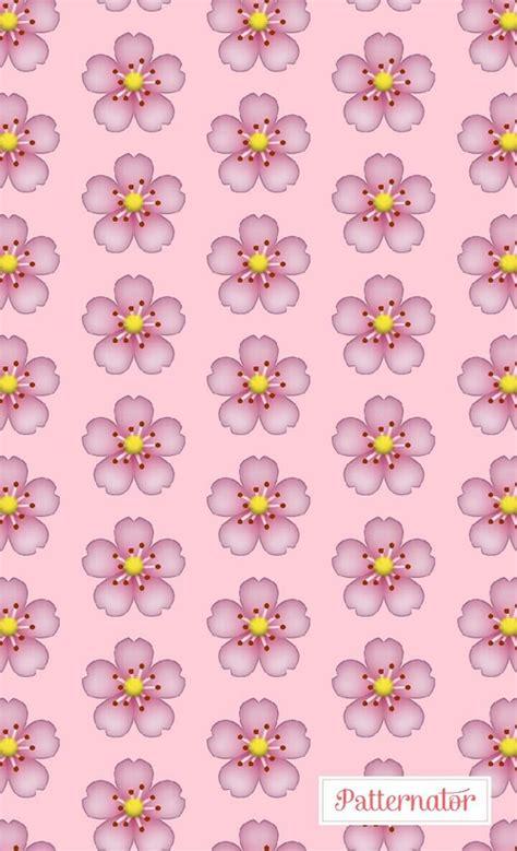 wallpaper flower emoji flower emoji and pink image wallpapers pinterest