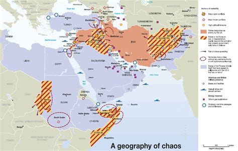 middle east map conflict map the gulf