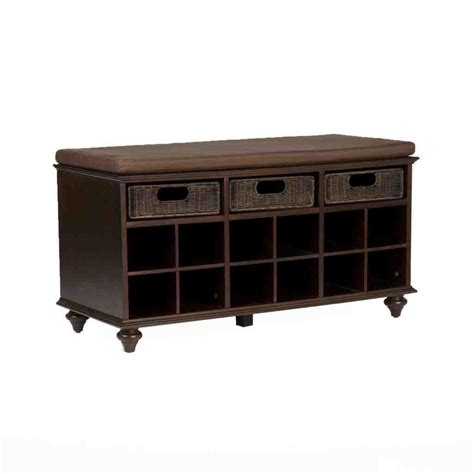 storage bench for foyer entryway shoe storage bench home furniture design