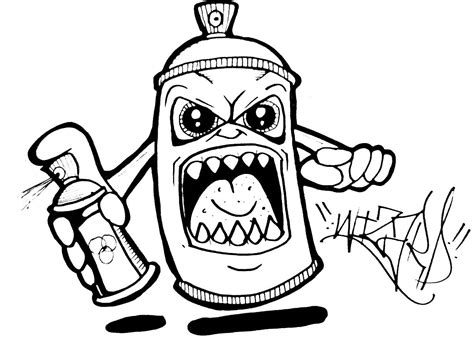 Easy Designs You Can Draw by How To Draw A Spray Can 2015
