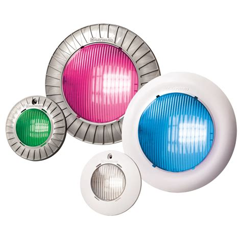 hayward colorlogic led pool light new 150 models for universal colorlogic 174 and crystalogic