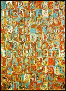 jasper johns numbers in color we jasper johns alphabet