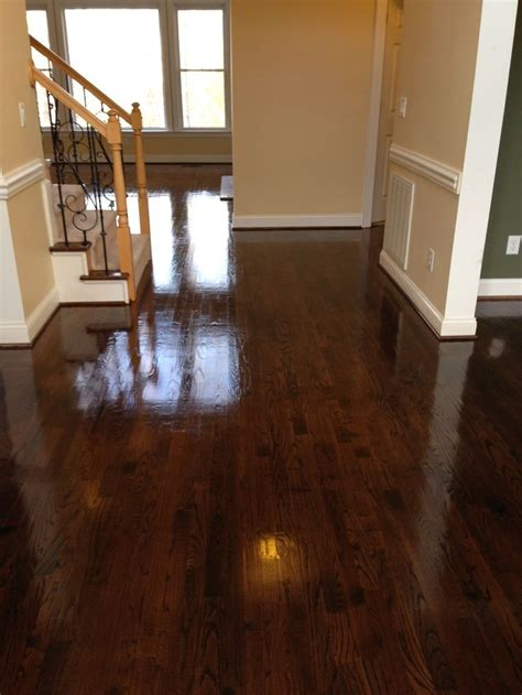 before and after hardwood refinishing cherry   Google