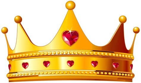free s day photo card templates crown png golden crown with hearts png clipart image gallery