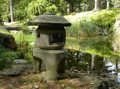 Japanese Garden Lantern by File Sonnenberg Gardens And Mansion State Historic Park