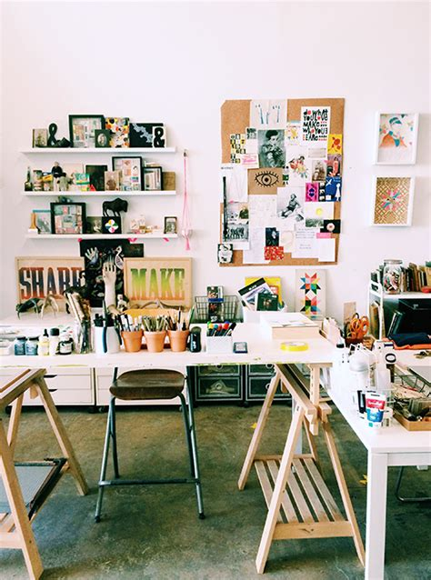 art and craft studio studio tour with lisa congdon sfgirlbybay