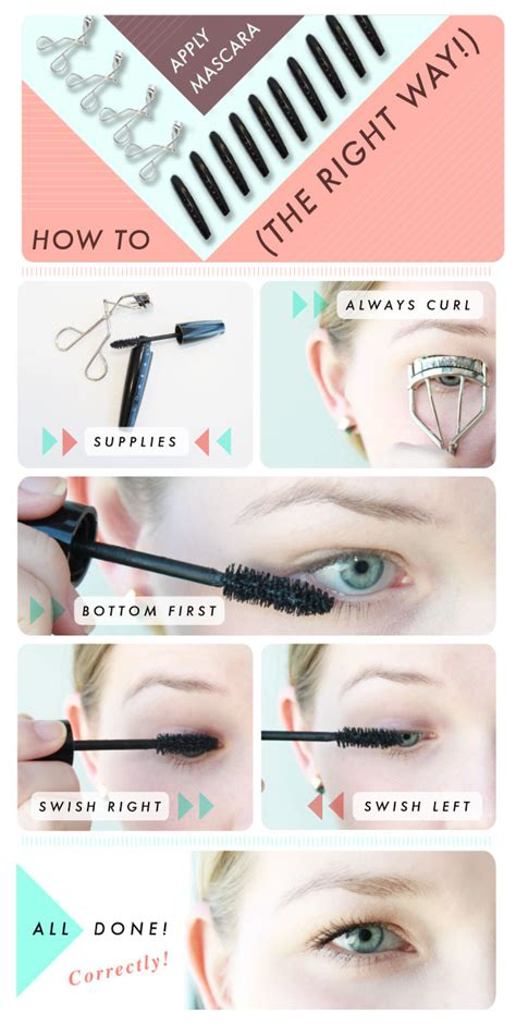 7 Of Applying Mascara The Right Way how to apply mascara makeup