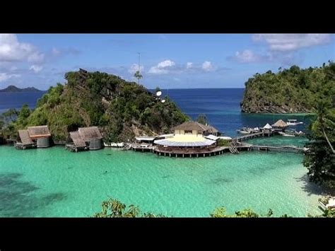 misool eco resort  island video  youtube