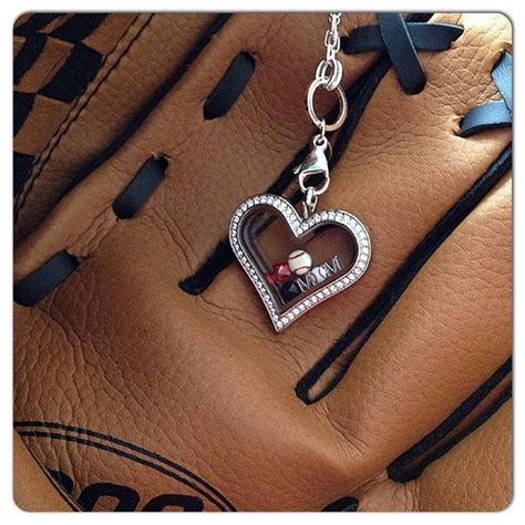 origami owl firefighter locket baseball design here locket today at my site