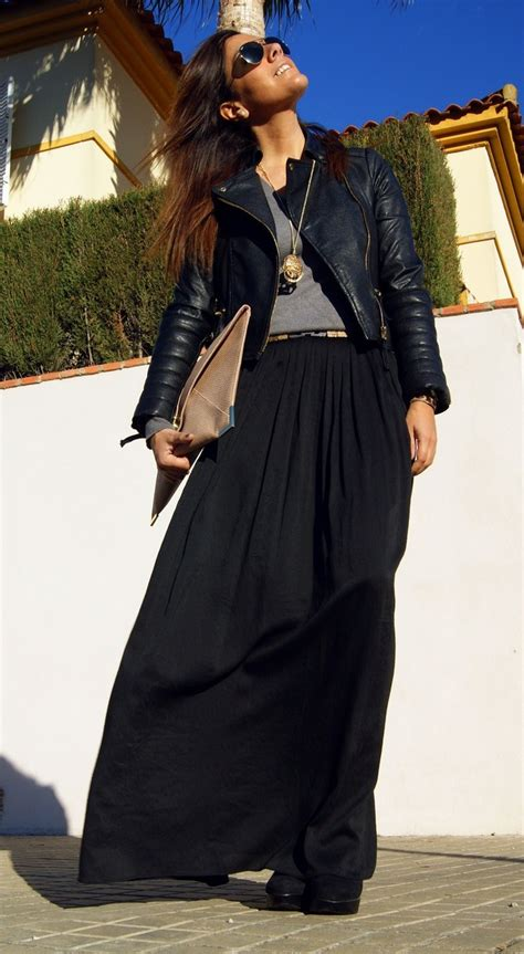 17 best ideas about black skirts on denim