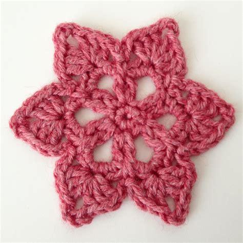crochet pattern motifs star crochet motif deux brins de maille