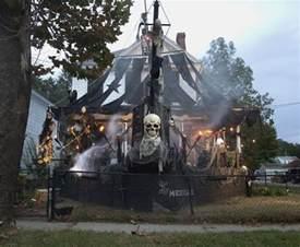 Halloween whole house pirate ship spooktacular pinterest