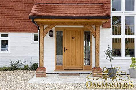 Open Porches open porch with oak posts and brackets 5421 oakmasters