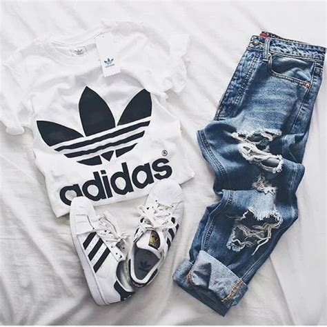 shoes and clothes for adidas shoes style image 4093023 by