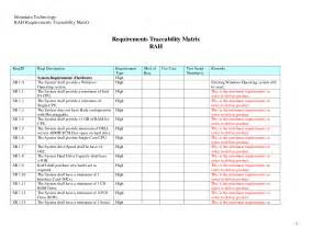 requirement traceability matrix template requirements traceability matrix template l vusashop