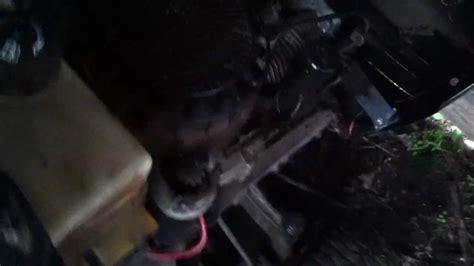 craftsman lawn tractor won t start craftsman lt1000 lawn tractor bad starter won t