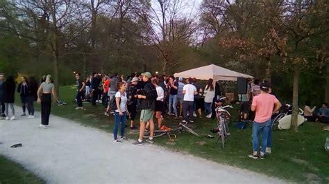 Open Air Englischer Garten München by Bass Paranoya M 252 Nchen Englischer Garten 09 04 2017