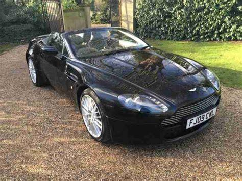 Aston Martin 20k Aston Martin 2009 Vantage V8 Auto Roadster Black Black