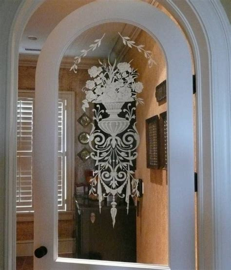 Decorative Etched Glass Interior Doors Decorative Glass Interior Doors Types And Styles For Your Home Home Doors Design Inspiration