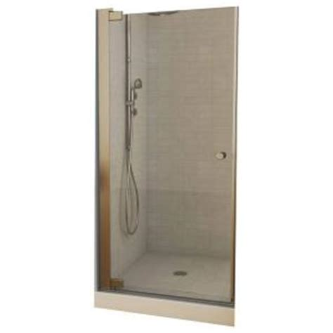 Maax Insight 36 5 In X 67 In Frameless Pivot Shower Door