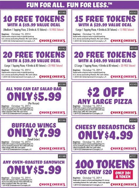 printable coupons food 4 less 65 best chuck e cheese printable coupons free tokens