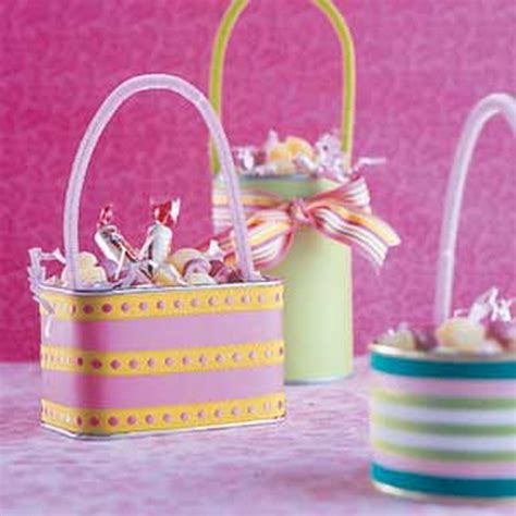 Handmade Easter Basket Ideas - unique and easy creative easter basket ideas family