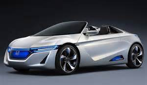 Prototype Electric Cars Of The Future Honda Ev Ster Concept For The Future Of Electric Sports Cars