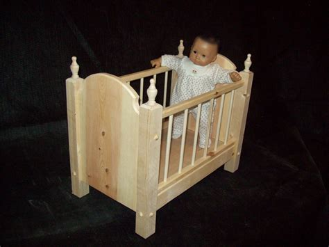 Bitty Baby Crib Handmade Crib For Bitty Baby Or Any 15 Quot Doll By Pine Grove Woodshop Custommade