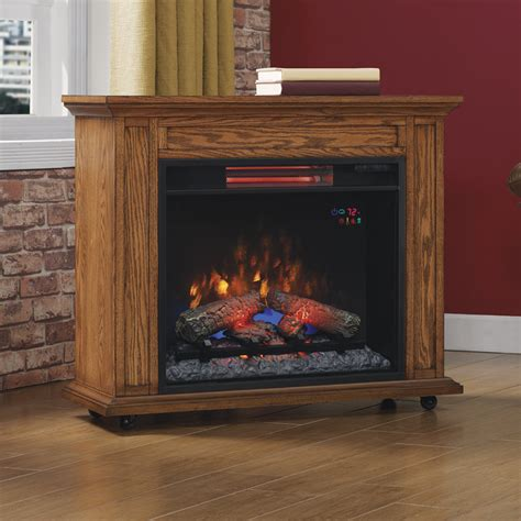 duraflame fireplace logs duraflame rolling mantel with infrared quartz electric