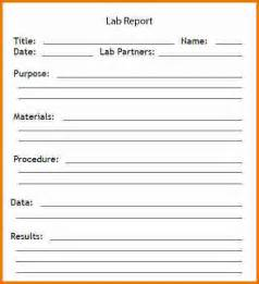 Chemistry Lab Report Template Word lab report template word lab report template jpg