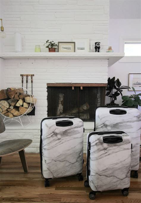 Milk Giveaway - calpak milk marble luggage giveaway simply grove