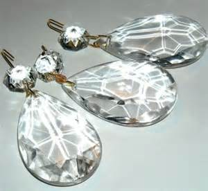Chandelier Parts Suppliers Items Similar To Vintage Chandelier Parts Prism Crystal