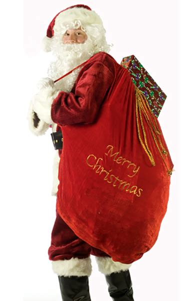 red santa sack for babies pictures deluxe santa sack apple costumes costumes