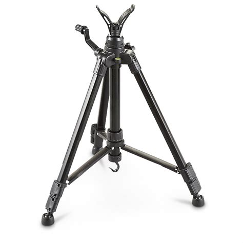 guide gear 42 quot shooting stick tripod 588760 bipods at