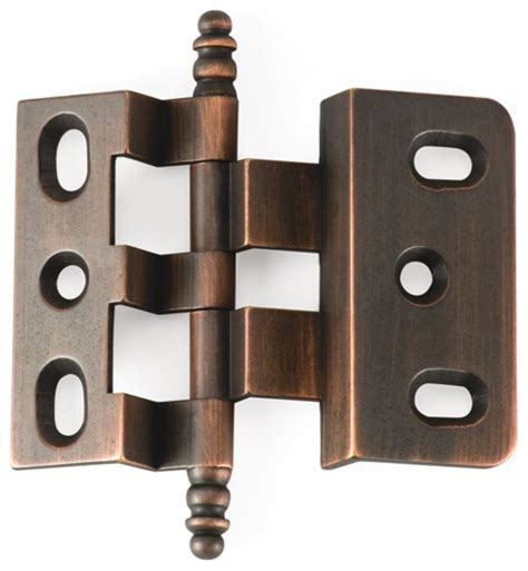Offset Cabinet Door Hinges 3 8 Offset Vb Venetian Bronze Offset Cabinet Hinge Traditional Hinges Philadelphia By