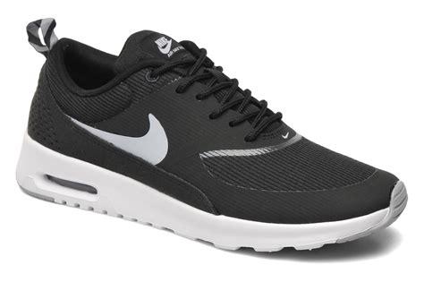 Nike Air Thea Black List White nike wmns nike air max thea trainers in black at sarenza