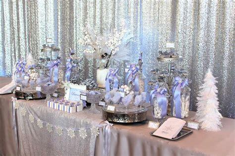 Winter Wonderland Quinceañera Party Ideas   Photo 3 of 14