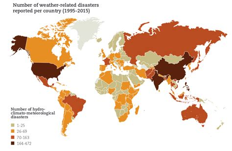 chart reveals what natural disaster is most likely to kill un 1995 to 2015 flood disasters affected 2 3 billion