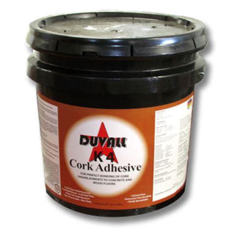duvall cork adhesive duvall adhesives cork underlayment