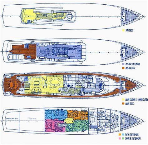 yacht serene layout carmen serena layout luxury yacht browser by
