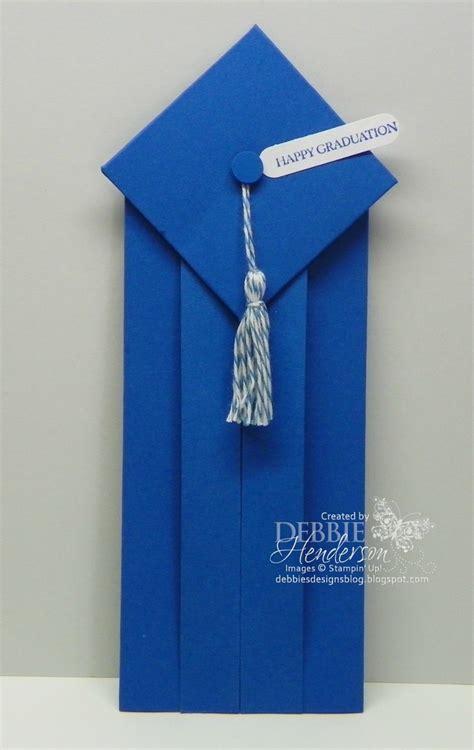 Origami Graduation Cap - graduation card