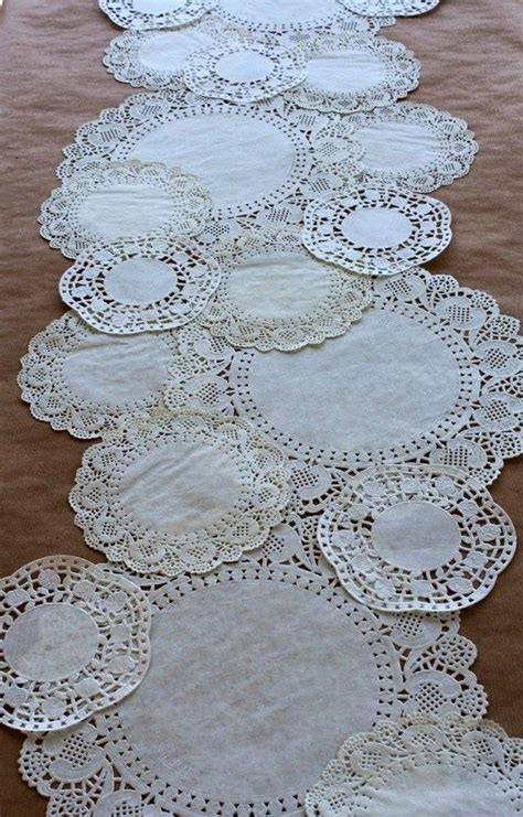Craft Paper Table Runner - the 25 best ideas about paper doily crafts on