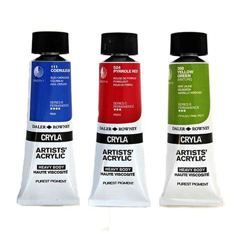 acrylic paint za cryla artists acrylic 75ml daler rowney array